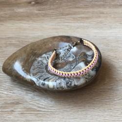 Bracelet nylon macramé...