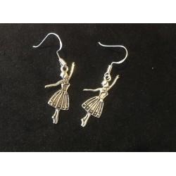 Boucles d'oreilles danseuse