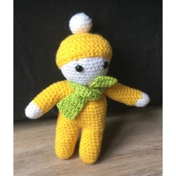 sujet amigurumi en crochet...