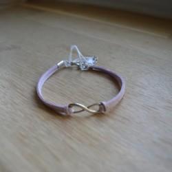 Bracelet double infini...